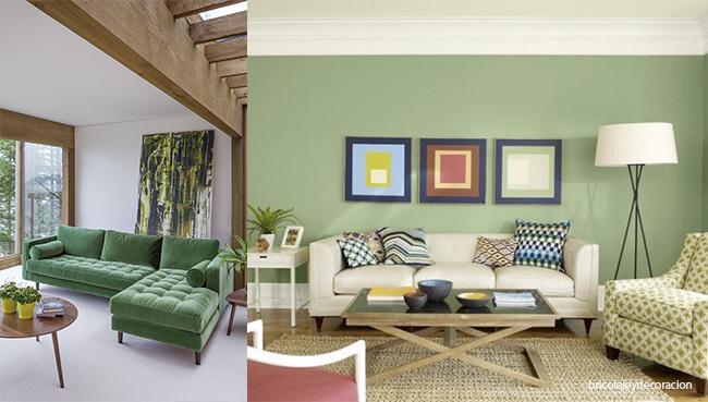 combinación verdes