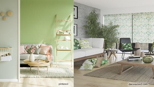 color verde tropical