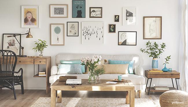 Come decorare una parete con stile - Decorare una parete ...